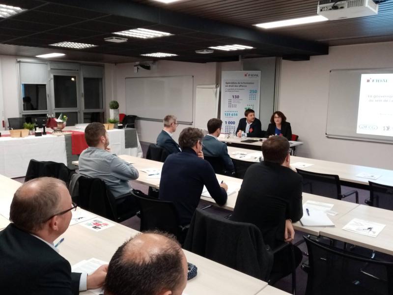 Conférence sur la GOUVERNANCE FISCALE AU SEIN DES ENTREPRISES avec Fidal Caen.