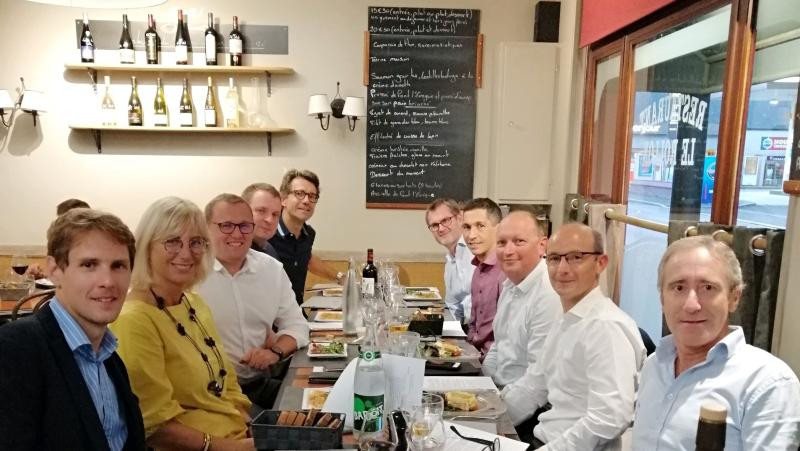 Diner du Bureau DFCG Normandie