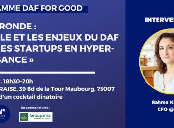 DAFFORGOOD – Le rôle et les enjeux du DAF dans les start-ups en hyper-croissance